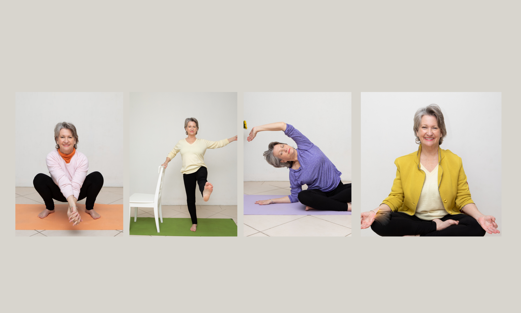 Yoga Works for over 40's